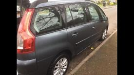 C4 grand Picasso 7 seater mpv 2009