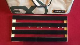 T. rex tone trunk guitar pedalboard for gear pedals