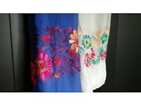 Colourful Fashion Scarves, 200 Items Job Lot