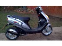 sym jet 100 euro x scooter