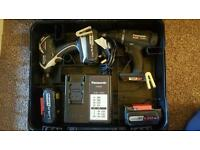 Panasonic combi drill set