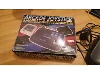 Megadrive / SNES Gamester arcade fighting stick - SEGA, Nintendo, retro, vintage