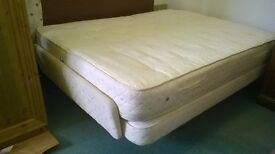 Electric kingsize bed in good condition with massage, head, foot knee raise options cost about £5000