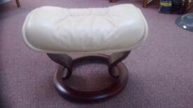 Ekornes Stressless Leather Footstool