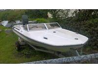 15ft Stingray Speedboat