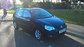 VOLXSWAGEN POLO 2008 57 1.2 MATCH 5 DOOR HATCHBACK MANUAL, LONG MOT 1695