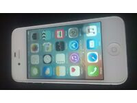 iphone 4s, 8gb, white, unlocked, very good working and cosmetic,