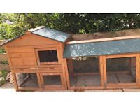 Outdoor and indoor hutch free