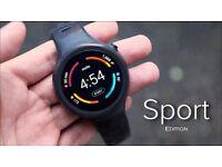 SmartWatch GPS Motorola Moto 360 Sport ** iPhone and Android** / 2nd Gen /