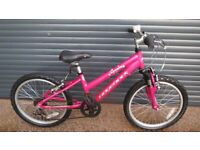 RIDGEBACK MELODY LIGHTWEIGHT ALUMINIUM BIKEN IN EXCELLENT LITTLE USED CONDITION. (SUIT AGE. 6 / 7+).