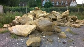 Very Large Sandstone Garden Pond rock approx 30 ton