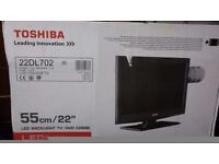 "Toshiba 22"" HD Ready de TV/DVD Combi- New/Unopened"