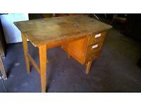 Desk, 3 drawer