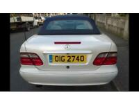 Mercedes clk 230 auto for sale or px