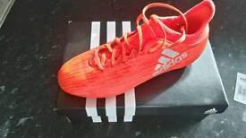 Adidas X16.3 football boots size 5.5