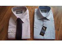 """Men's shirts x 2 NEW with tags 16"""" & 16 1/2 """""""