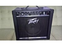Peavey Rage 158 Transtube Blue Marvel guitar amplifier 15watts