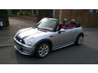 : VERY ATTRACTIVE MINI CONVERTIBLE AERO FACTORY BODY KIT. SERVICE HISTORY AND MOT UNTIL JULY 2019