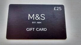£25 M&S Gift Card!! Marks and Spencer