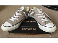 """Converse CT (""""Chuck Taylor"""") OX unisex shoes. Size 4 (Eur: 36.5)"""