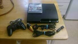 PlayStation 3 with Tomb Raider Trilogy game