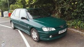 Peugeot 306 LX Diesel 5dr Hatch, September MOT, Drives Well, New Tyres and Exhaust, Air Con, CD
