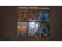 XBox 360, set of 6 Games