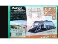 Vango Verona 6XL Tent brand new