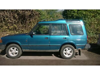 Landrover Discovery. Manual. Diesel. 12 months MOT