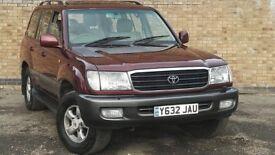 2001 Toyota Land Cruiser Amazon 4.2 TD VX 5dr auto***VERY HIGH MILES**GOOD SPEC