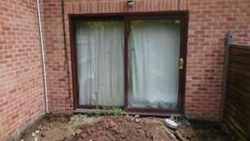 Patio door UPVC double glazing