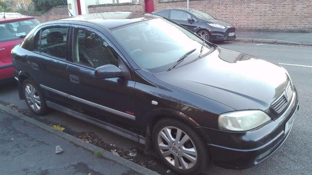 Vauxhall Astra 2001 1.8 16V