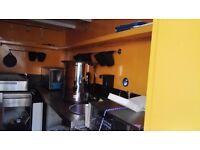 Renovated Catering Trailer Black & Orange (Business Idea optional)