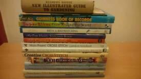 Cross stitch books - now reduced