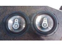 FLI FI6 Integrator 6 inch 3-way coaxial car speakers drivers