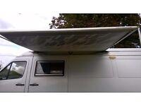 Fiamma Caravanstore 255 caravan motorhome rollout canopy awning