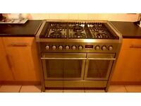Gas/eletric 6 hob cooker oven