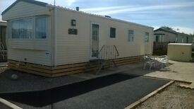 For Sale 2015 ABI Trieste Static Caravan Double Glazed, Central ly Heated. Morecombe Bay, Lancashire