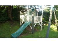 Children's Garden Playhouse - Swing and Slide (Colinton, Edinburgh)