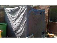 GROW TENT 6 FT X 6FT TO CLEAR SPARES OR REPAIRS