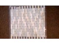 GLASS MOSAIC TILE SHEETS x5