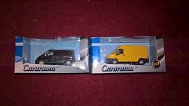 Cararama 1/72 Scale 00 gauge Ford Transit Van New in Box