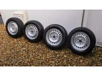 VW Transporter T5 Wheels and tyres £50