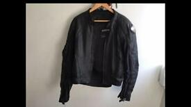 Frank Thomas Leather Motorbike jacket 42