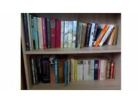 100 Paperback & Hardback Books Including Novels, Cooking, Art, Travel, Lifestyles, Poetry, biography