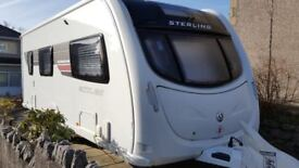 2012 Sterling Eccles Moonstone SE Caravan