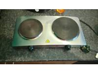 Mini oven and double hobs for sale