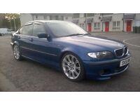 2002 BMW E46 330 M SPORT MANUAL BOX NEW MOT