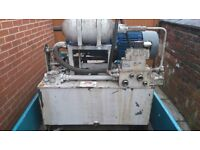 used hydraulic power packs for sale 3 phase 4 kw to 11kw various units available