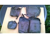 Various sturdy waterproof Swiss army pouches